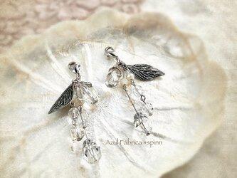 マスクピアス:ice flower (silver)の画像