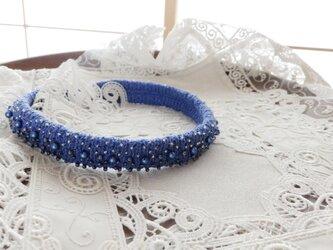 リネン100%・青のチョーカー t様専用の画像