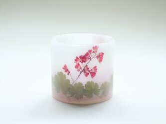 山野草のランタンキャンドルの画像