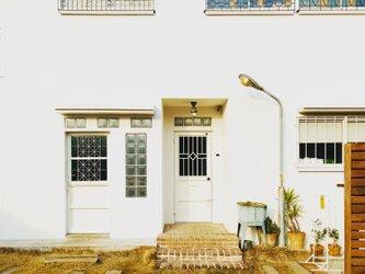 (※ご購入前在庫確認必須※)アイアンドア ID-COMP 鉄扉 インダストリアル ドアノブ付き 完成品 ドア 扉の画像