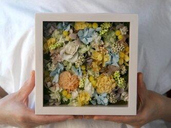 送料無料 アクリル板付きフレーム アレンジ   pastel colourの画像