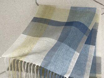 手織りストール SU17の画像