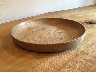 栗の大皿1の画像
