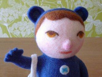 """トイヴォさん mini(ブルー) """"希望""""という名のともだちの画像"""