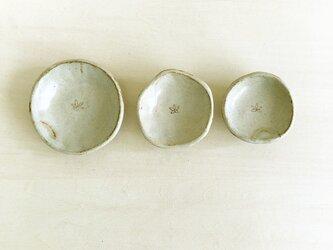 お花の豆皿 3枚セットの画像