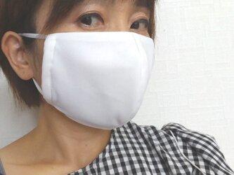 【即日発送可能】呼吸する快適夏マスク(女性用ホワイト)の画像