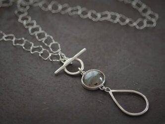 ラブラドライト ネックレスの画像