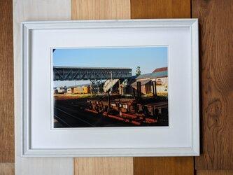 風景写真 A4 貨物のための台車の画像