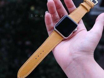 高級革のApple Watchベルト 男女兼用 時計ベルト 腕時計 皮 革の画像