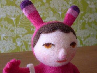 """トイヴォさん mini(ピンク) """"希望""""という名のともだちの画像"""