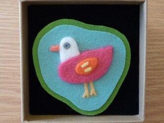 トリブローチ(ピンク)の画像