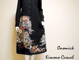着物ロングシャツ Kimono Long Shirt LO-243/Mの画像
