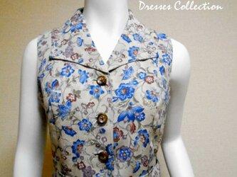 着物シャツドレス(ベルト付き) Kimono Shirt dress LO-245/Mの画像