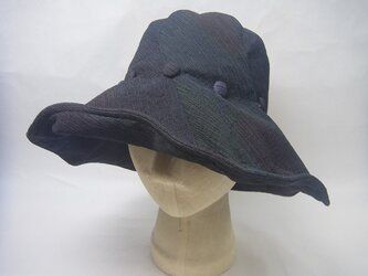 sold out たためる夏の大きな帽子=6=の画像