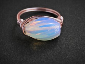 Milky Wire Ring の画像