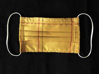 黄八丈のプリーツマスクの画像