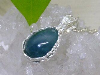 グランディディエライト*925 lace pendantの画像