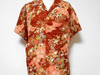 着物アロハシャツ Kimono Aloha Shirt AL-655/XLの画像