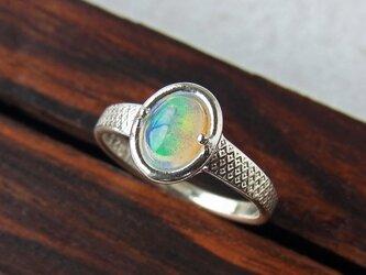 オパール リング * Opal Ring Xの画像
