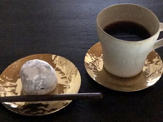 真鍮の茶托 01の画像