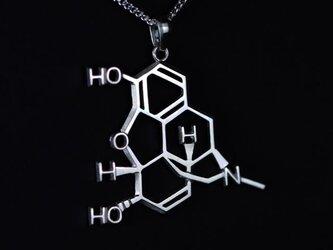モルヒネ ネックレス 化学式アクセサリー®の画像