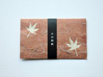 ミニ封筒&Card/紅葉(秋)の画像