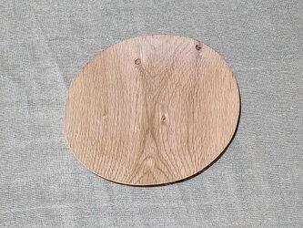 《気ままなお皿と器たち》N-01 ナラ木皿の画像