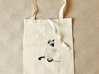 エコバッグ 猫の画像