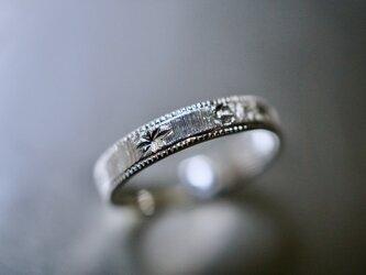 三日月と星のリング/ Silver950の画像