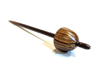サポートスピンドル  A-13. 糸紡ぎ道具の画像