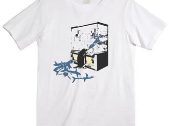 [Tシャツ] 買占めペンギンの画像