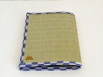 四方縁 畳ブックカバー富士山~矢絣~文庫サイズの画像