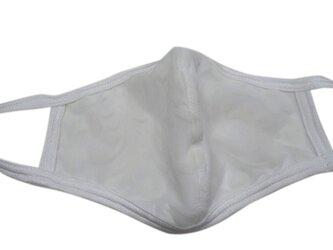 立体シーム・カーブ型パワーネットマスク・ホワイトの画像