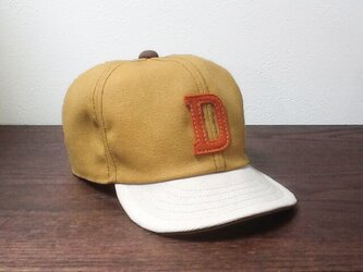 『特別ご注文品』アルファベットキャップ 帆布シリーズ 『D』サイズ違いの画像