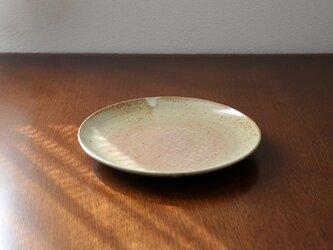 藁灰釉のお皿 * 2 * 約24cmの画像