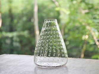 ぷつぷつ泡花瓶(さんかく)の画像