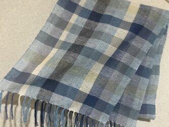 手織りストール SU18の画像