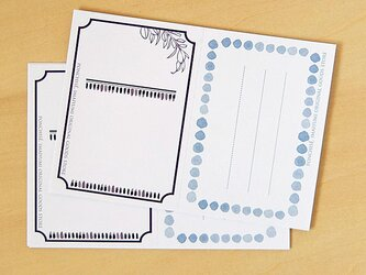 メッセージカード フレームの画像