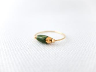 リング green/goldの画像