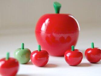 りんご in りんご●マトリョーシカの画像