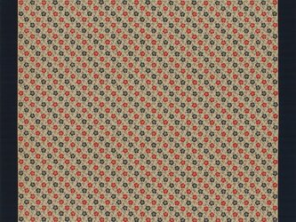 大判風呂敷 ふろしき  いせ辰 なでしこ 金茶 綿100%  198cmx198cmの画像