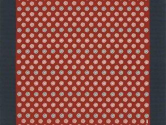 大判風呂敷 ふろしき  いせ辰 梅 エンジ 綿100%  176cmx176cmの画像