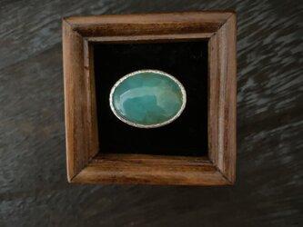 Green opalのRingの画像