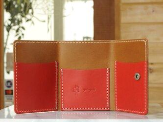 コンパクトな3つ折り財布 No.4 ブッテーロの画像