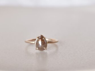 Frosted Diamond Ring Mocha Dropの画像