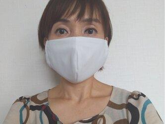 【即日発送可能】呼吸する快適夏マスク(女性用グレージュ)の画像