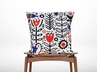 森のクッション Various red and blue designs -ヒノキの香り-の画像