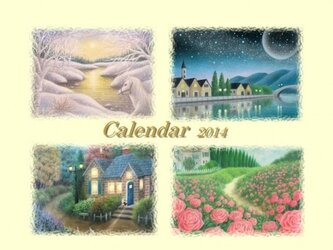 2014年パステルアートカレンダーの画像