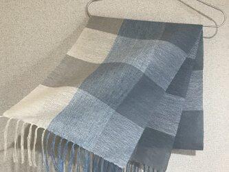 手織りストール SU19の画像