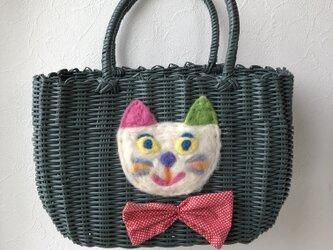 koruri × colore カゴバッグ 猫の画像
